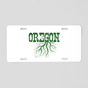Oregon Roots Aluminum License Plate