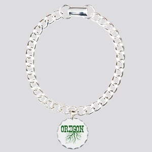 Oregon Roots Charm Bracelet, One Charm