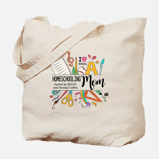 Homeschooling Mom Tote Bag