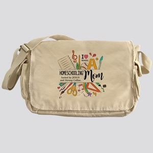Homeschooling Mom Messenger Bag