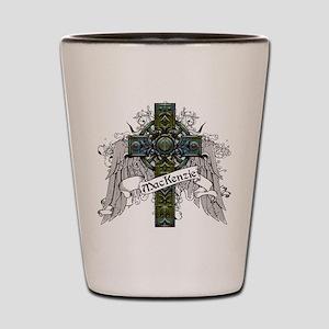 MacKenzie Tartan Cross Shot Glass