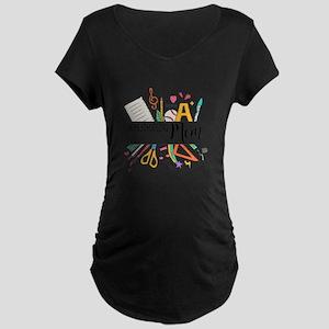 Homeschooling Mom Maternity T-Shirt