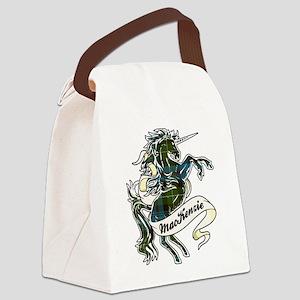 MacKenzie Unicorn Canvas Lunch Bag