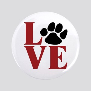"Love Paw 3.5"" Button"