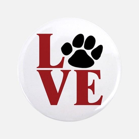 "Love Paw 3.5"" Button"