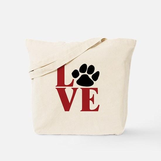 Love Paw Tote Bag