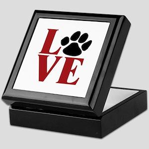 Love Paw Keepsake Box