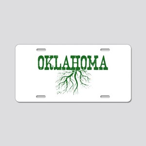 Oklahoma Roots Aluminum License Plate