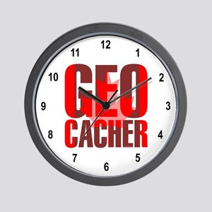 Canadian Geocacher Wall Clock