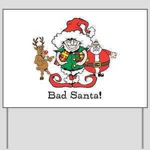 Custom Christmas Yard Sign