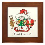 Custom Christmas Framed Tile