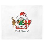 Custom Christmas King Duvet