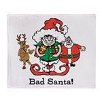 Custom Christmas Throw Blanket