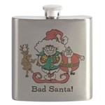 Custom Christmas Flask