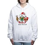 Custom Christmas Women's Hooded Sweatshirt