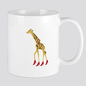 Heeled Giraffe Mugs