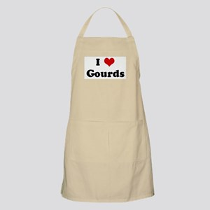 I Love Gourds BBQ Apron