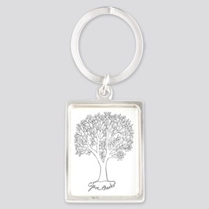 Give Thanks Tree Keychains