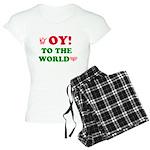 Oy To the World Women's Light Pajamas