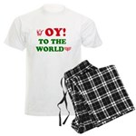 Oy To the World Men's Light Pajamas