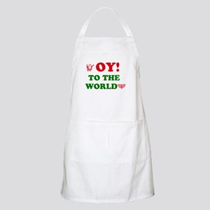 Oy To the World Apron