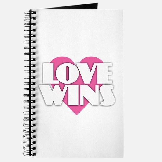 Love Wins - Heart Journal