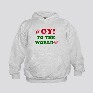 Oy To the World Kids Hoodie