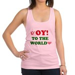 Oy To the World Racerback Tank Top