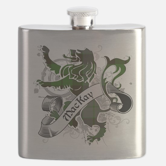 MacKay Tartan Lion Flask