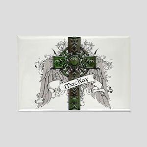 MacKay Tartan Cross Rectangle Magnet