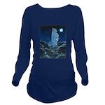 Dream Catcher Long Sleeve Maternity T-Shirt