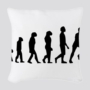 Rugby Evolution Woven Throw Pillow
