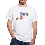 Oy Joy White T-Shirt