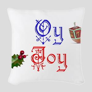 Oy Joy Woven Throw Pillow