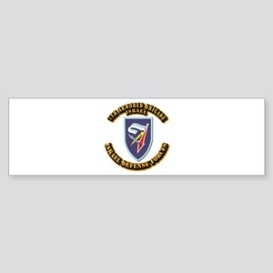7th Armored Brigade Sticker (Bumper)