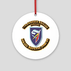 7th Armored Brigade Ornament (Round)