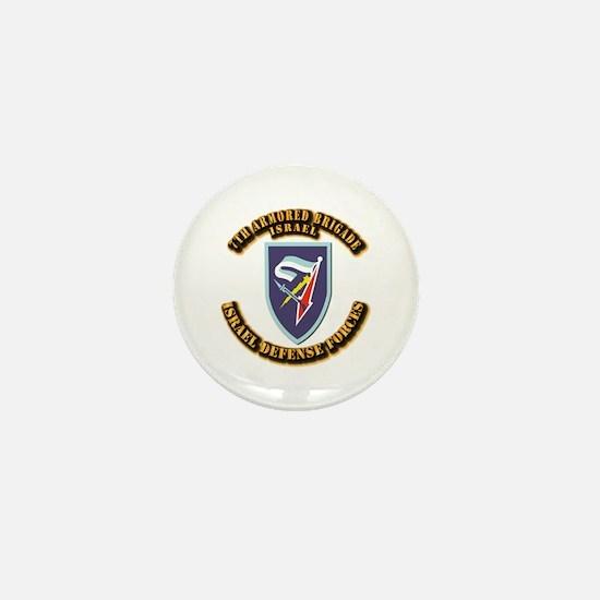 7th Armored Brigade Mini Button