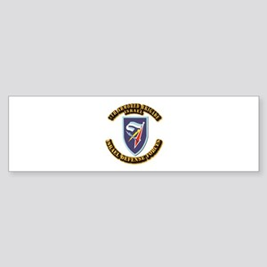 7th Armored Brigade (oval) Bumper Sticker