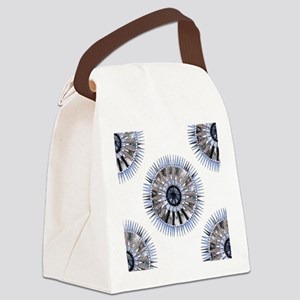 Like the rain Mandala Canvas Lunch Bag