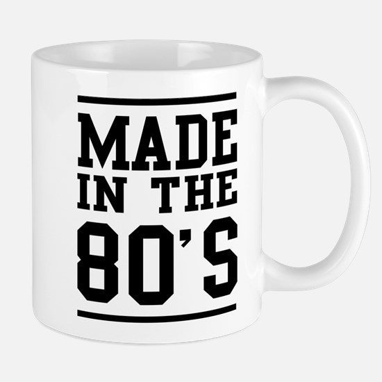 Made In The 80's Mugs