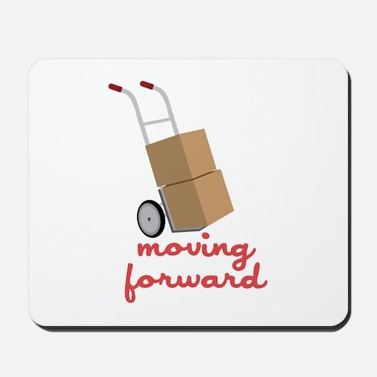 Moving Forward Mousepad