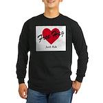 FreeHug_red Long Sleeve T-Shirt