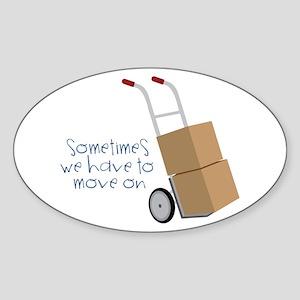 Move On Sticker