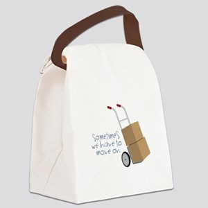 Move On Canvas Lunch Bag