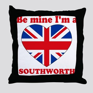 Southworth, Valentine's Day Throw Pillow