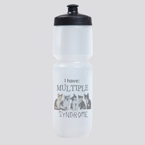 Multiple Cat Syndrome Sports Bottle