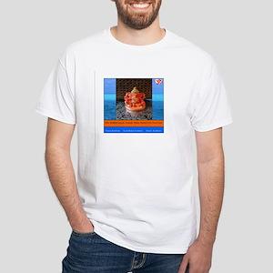 Sri Siddhivinyak Ganesh Maha Mantra White T-Shirt