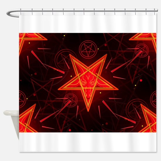 neon demon Shower Curtain
