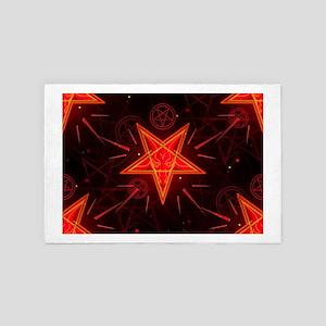 neon demon 4' x 6' Rug