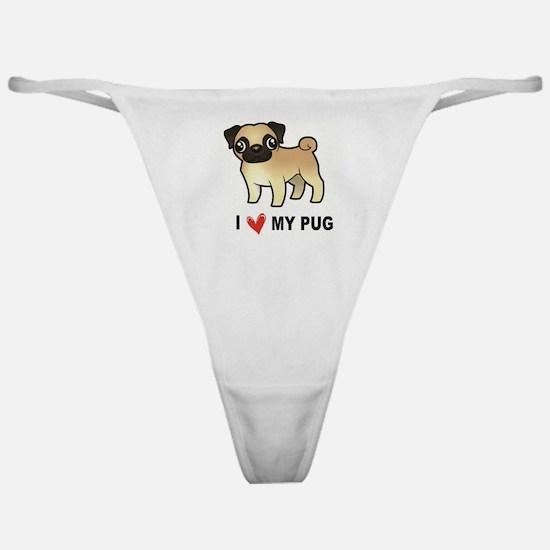 Unique Pug Classic Thong